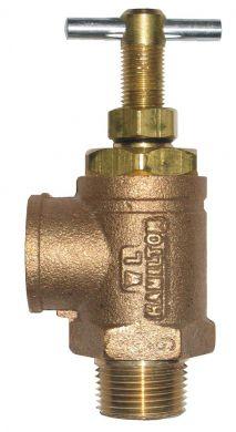 W L Hamilton Pressure Relief Valve Adjustable 0 300psi