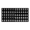 """Gammon GTP-2135-24, Peel-and-Stick Numbers Decal, 3M, 5,1/4x10,3/4"""""""