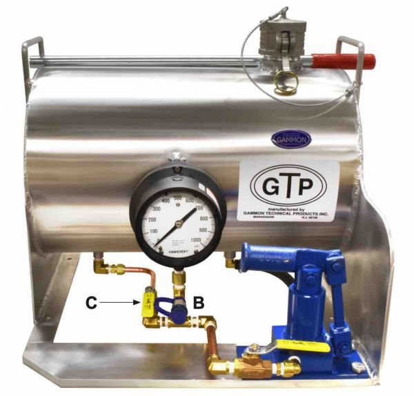Gammon GTP-2157-A Aircraft Refuelling Hose Tester