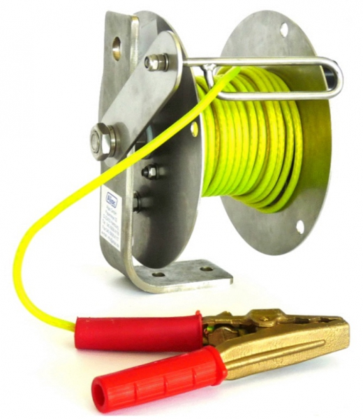 Static Grounding Reel, Stainless Steel, ATEX Approved