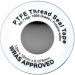PTFE Thread Seal Tape, WRC / WRAS Approved for Drinking Water
